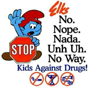 That'll stop the smurfing pusher from smurfing my body with his smurfing drugs!