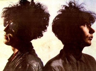 The Reid brothers and their magnificent hair.