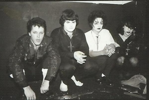 Christian Death's first lineup featuring Anthony Soprano Jr.
