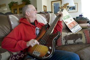 Jack Ely shows off guitar, false sense of entitlement