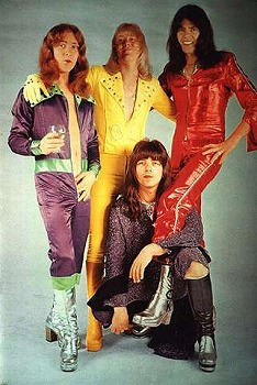 These four young men would eventually grow up to be David Lee Roth.