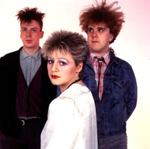 The key elements of the Cocteau Twins - Fraser's ethereal, dreamlike vocals; unfortunate hairdos