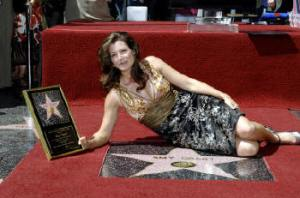 Good girls go to heaven. Amy Grant gets a Hollywood star. See you in hell, baby.