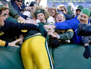 Another wasted Packer passes out in the end zone