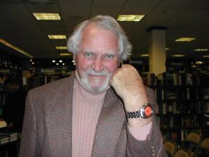 Clive Fucking Cussler and his fucking watch
