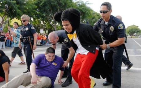 Mickey Mouse: yet another victim of racial profiling