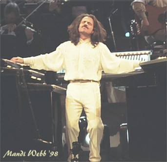 Yanni prepares for a hard-charging Creed cover.