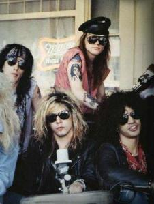 Axl often announced band firings through cleverly trimmed photos.